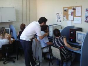 Students at PRODEAC at niversidad Nacional de General Sarmiento (Argentina)