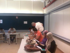 A Writing Classroom at American University if Cairo